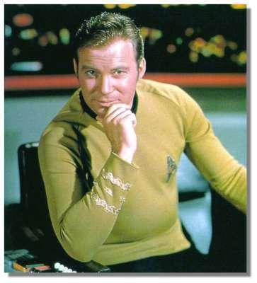 Capitaine James T. Kirk alias William Shatner