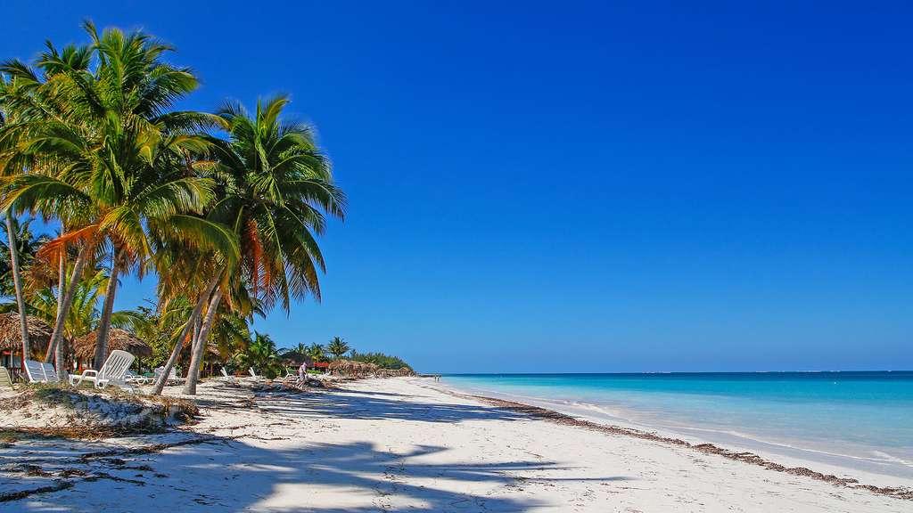 La superbe plage de Cayo Levisa
