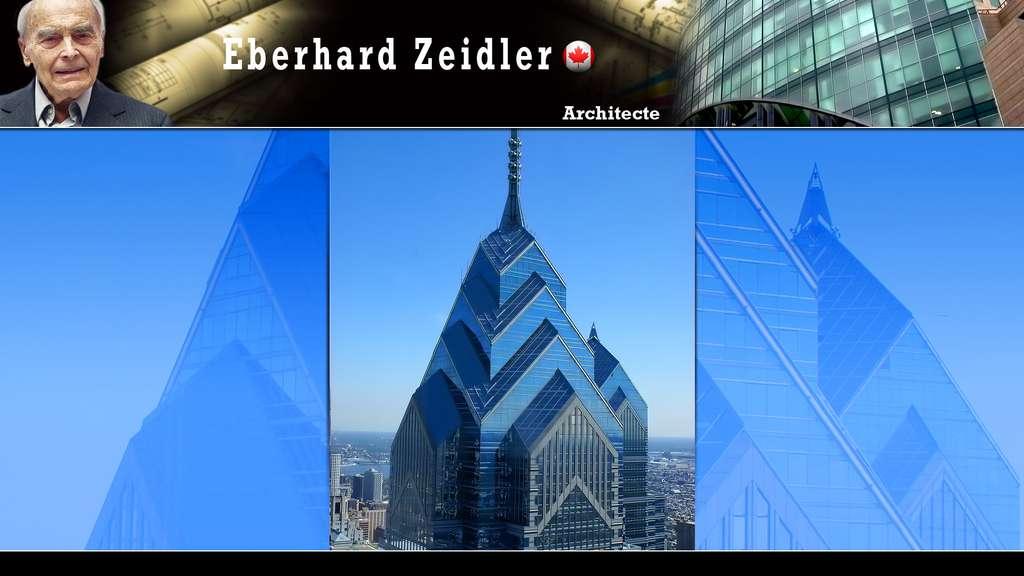 Le One Liberty Place à Philadelphie, par Eberhard Zeidler