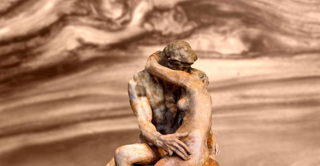 Le sexe est plus important pour le bonheur que l'argent. © Musée Rodin, Wikimedia Commons, DP