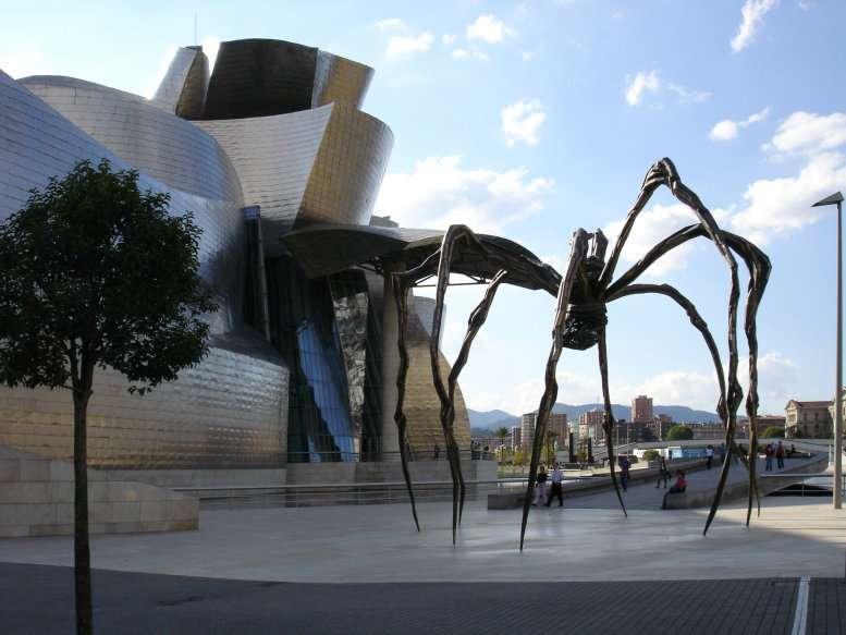 L'araignée de Louise Bourgeois, au musée Guggenheim de Bilbao