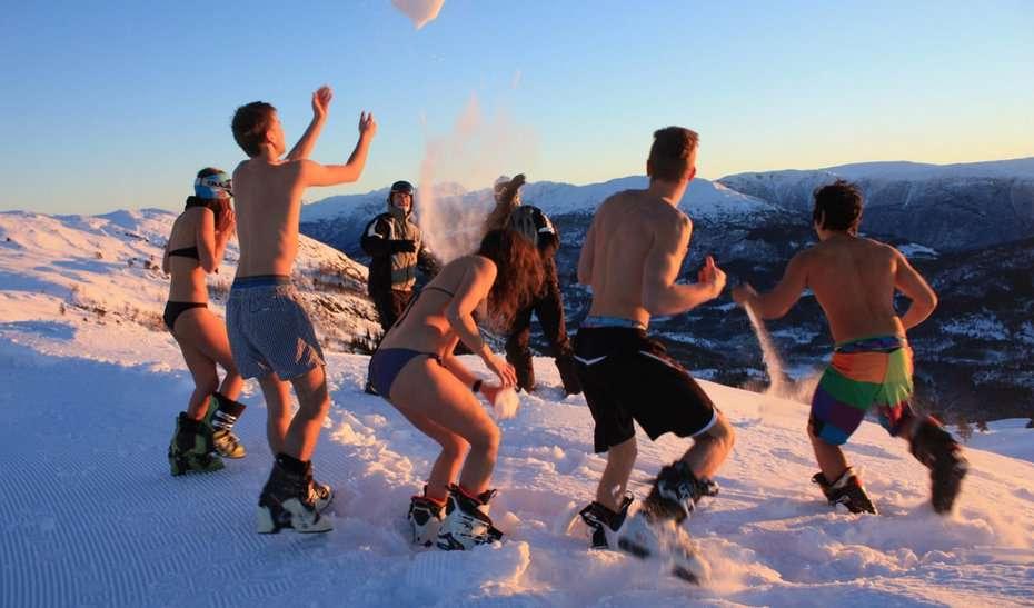 Pas de printemps pour cette année. Les météorologues prévoient un passage presque instantané de l'hiver à l'été. © www.ontheshow.com