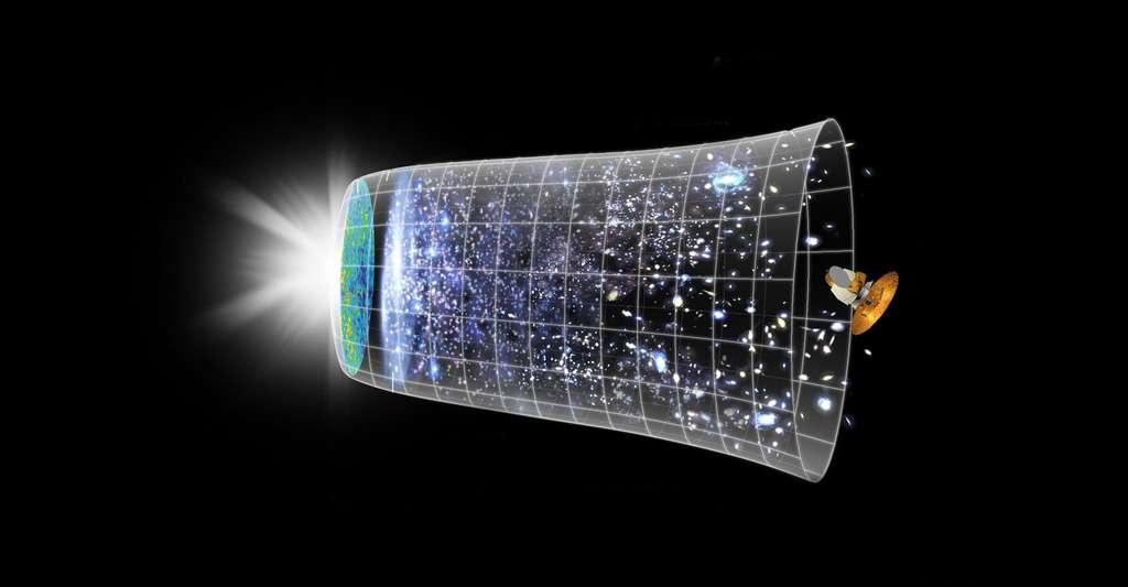 L'accélération de l'expansion de l'univers impliquerait l'existence d'une énergie noire. © Nasa, DP