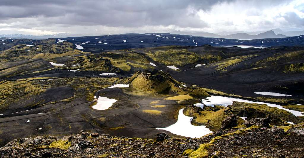 Le Laki, un volcan islandais. © Leon Dolman, CC by-nc 2.0