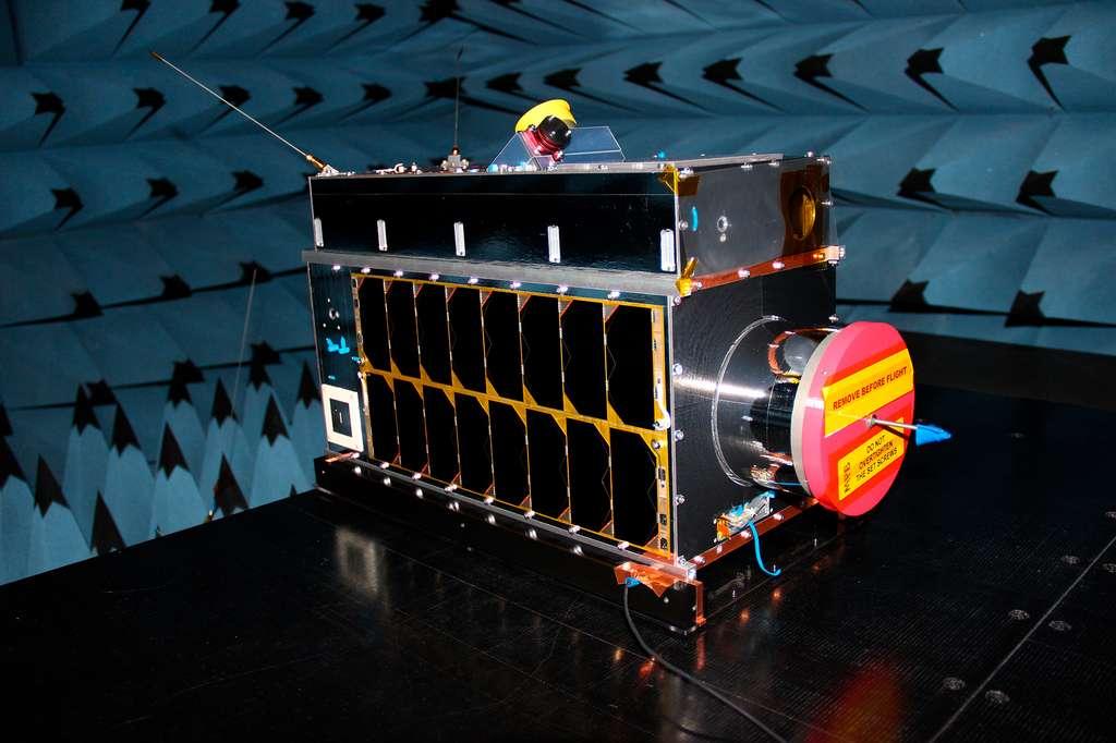 Le satellite Iris de la société canadienne GHGSat. © GHGSAT