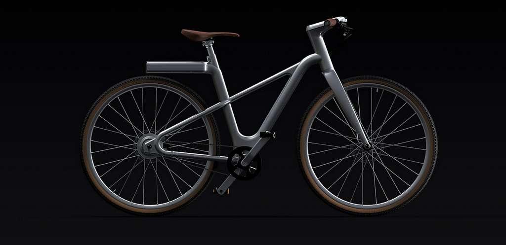 Angell a dévoilé une nouvelle version de son vélo électrique baptisé Angell/S, plus petit et plus léger. © Angell