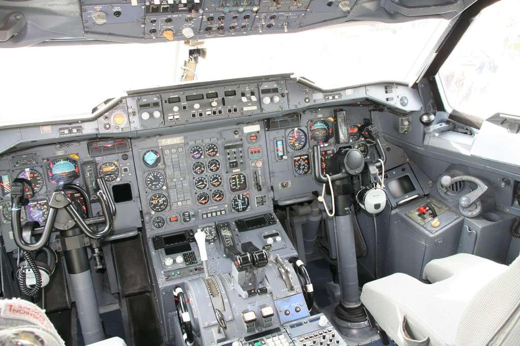 Le cockpit de l'Airbus A300 Zéro-G de Novespace. Un nouvel avion doit entrer en service à l'horizon 2014. © R. Decourt