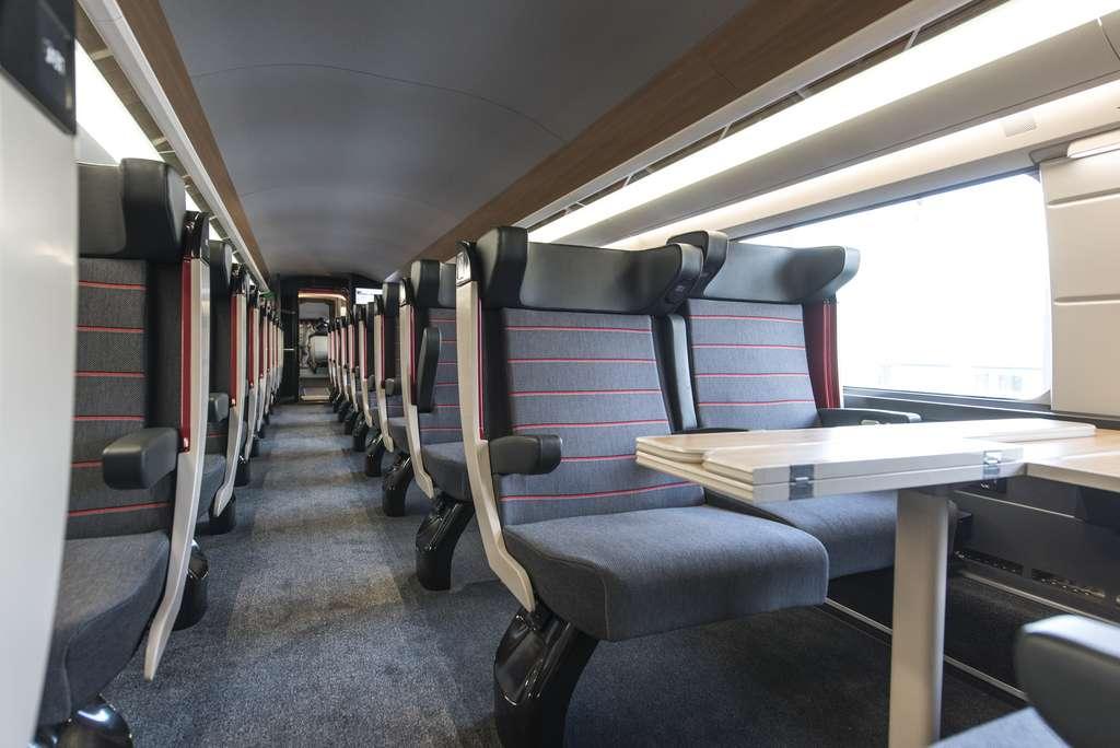 Le TGV M sera entièrement modulable et pourra accueillir jusqu'à 740 voyageurs. © SNCF
