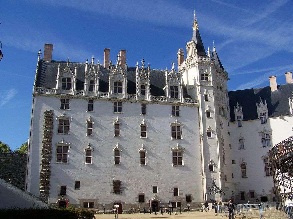 Le Grand Logis, du château des Ducs de Bretagne. © Florestan, Wikipedia, CC By-3.0