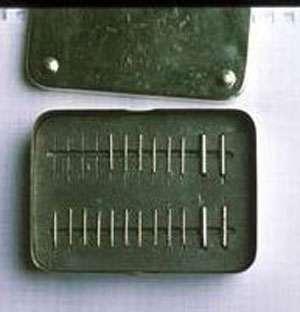 Une boîte d'aiguilles au radium © ANDRA