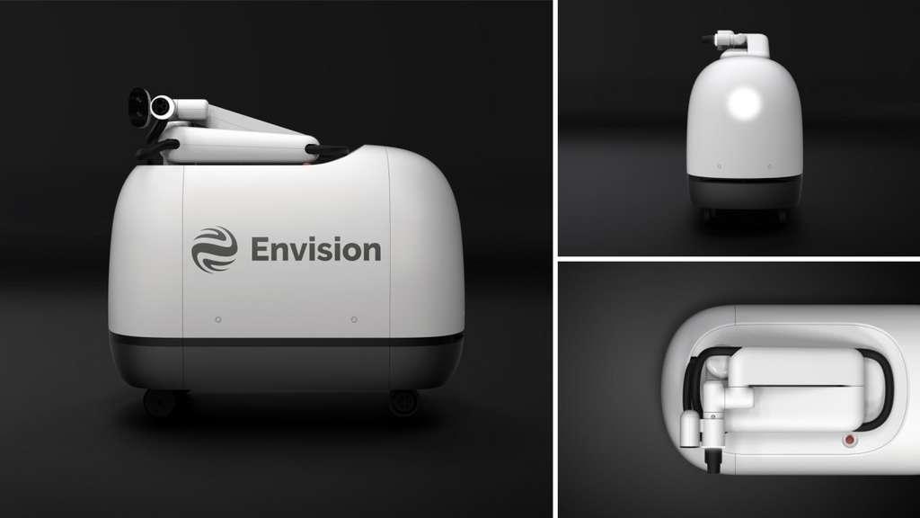 Le robot de recharge Mochi. © Envision Group