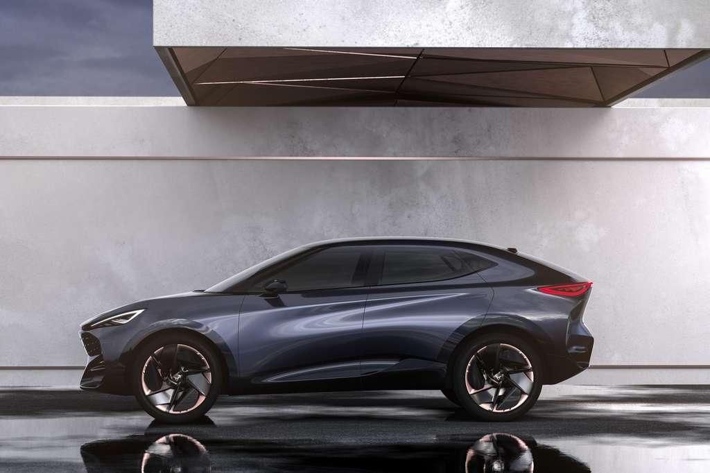 Le modèle dérivé du Tavascan sera le premier SUV 100% électrique de Cupra. © Cupra, Seat