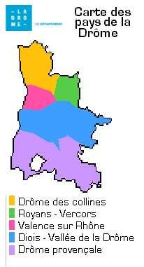 Pays de la Drôme. © DR