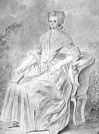 Portrait de l'avocate féministe et révolutionnaire Olympe de Gouges. © Wikimedia Commons, Public Domain