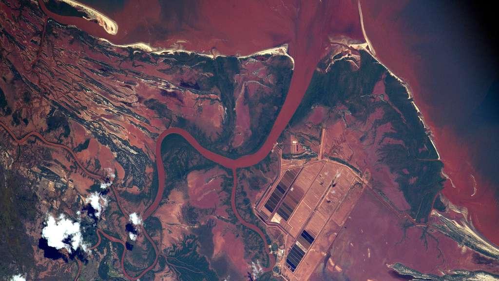 Madagascar vu de l'espace