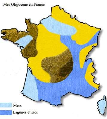 Mer Oligocène en France