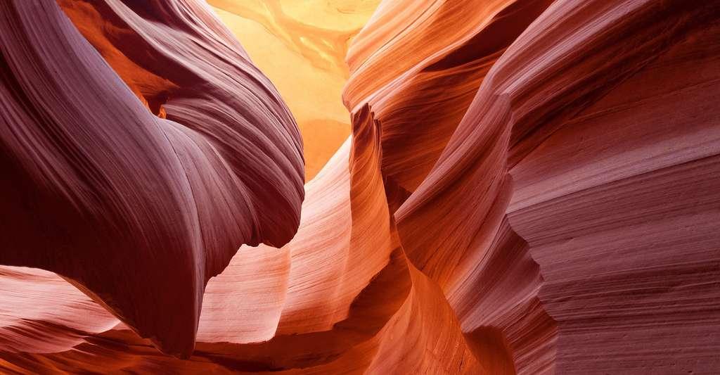 Connaissez-vous bien le grès ? Ici, l'Antelope Canyon, en Arizona, aux États-Unis. © PatternPictures, Pixabay, DP