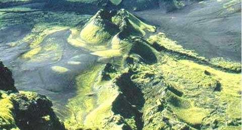 Laki. © Terre & volcans, reproduction et utilisation interdites