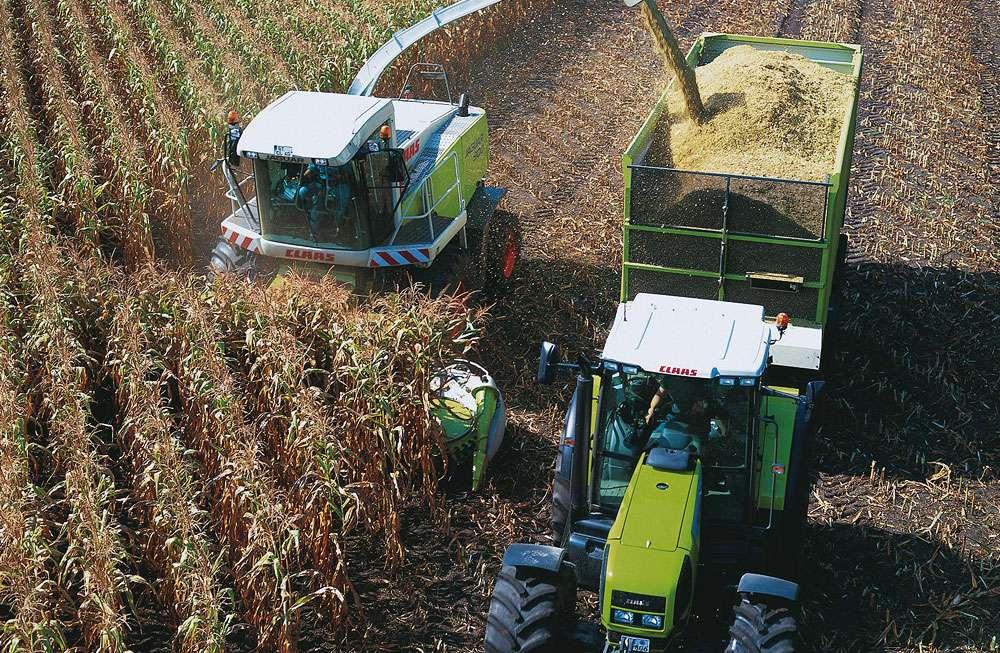 Récolte du maïs. © Roman Gridin/Claas, CC by-sa 3.0