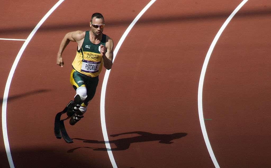 Oscar Pistorius - Jeux Olympiques de Londres en 2012. © Jim Thurston - CC BY-NC 2.0