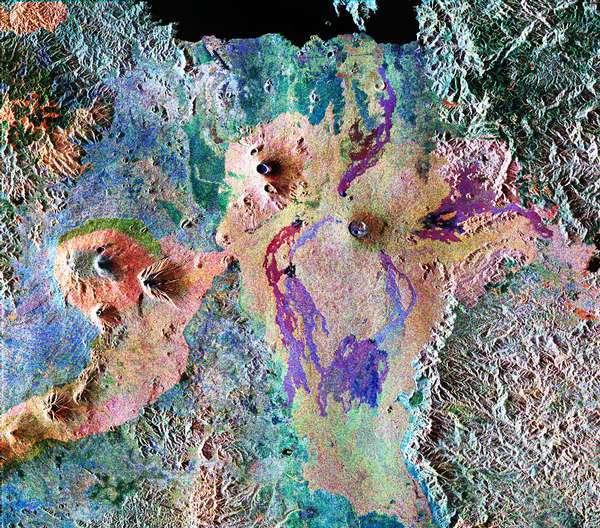 Volcans Karisoke et Viunga