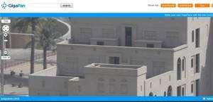 Un agrandissement pour découvrir les fausses fenêtres de cet immeuble de Dubaï. On peut s'approcher encore... © Gigapan.Org