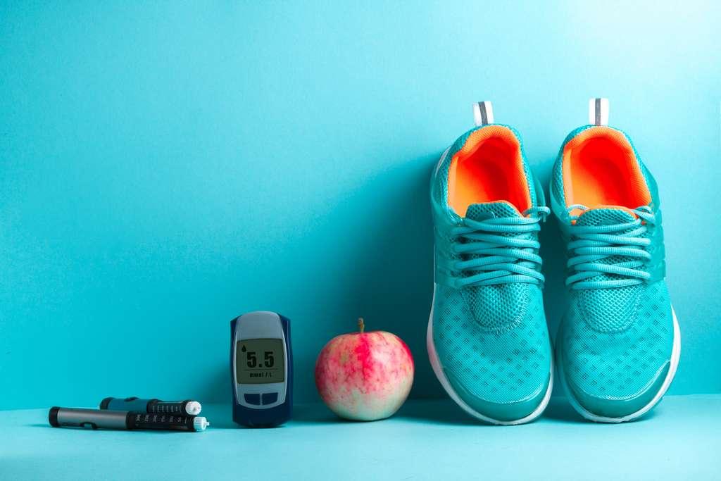 Une alimentation équilibrée et une activité physique régulière constituent la meilleure prévention contre le diabète de type 2. © Goffkein, Adobe Stock