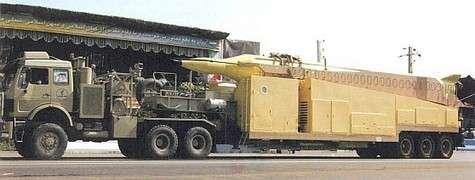 Shahab-3 (première version). Crédit : Federation of American Scientists