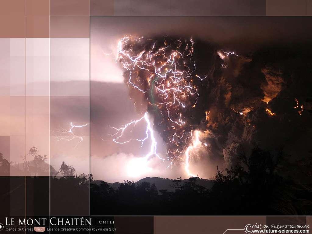 Le Mont Chaitèn Chili
