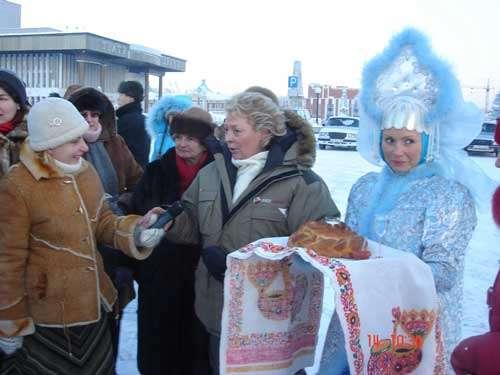 L'arrivée à Tomsk - © Hervé Codevelle - Reproduction interdite