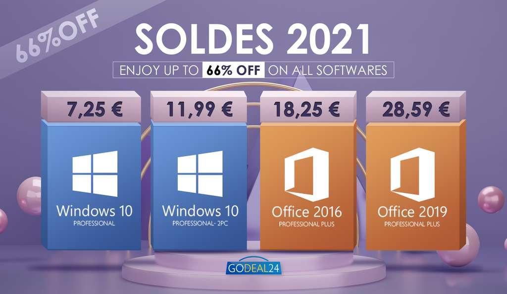 Les soldes d'été avec Godeal24 sur Windows et Microsoft