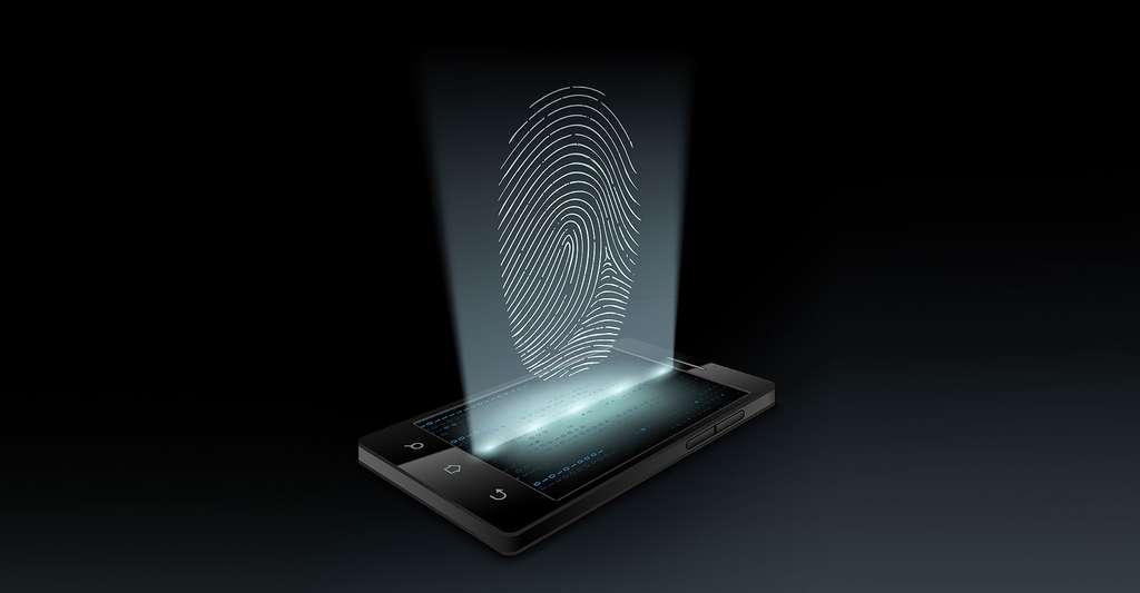 Biométrie et libertés individuelles sont-elles incompatibles ? Ici, une empreinte digitale. © Macro-vectors, Shutterstock