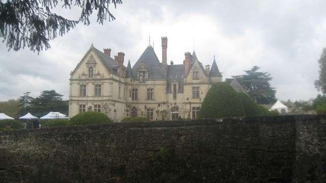 Le château de la Bourdaisière organise chaque année le Festival de la tomate. © DR