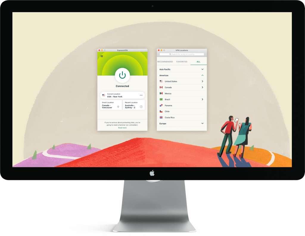 Un VPN est utile même sur un Mac. © ExpressVPN