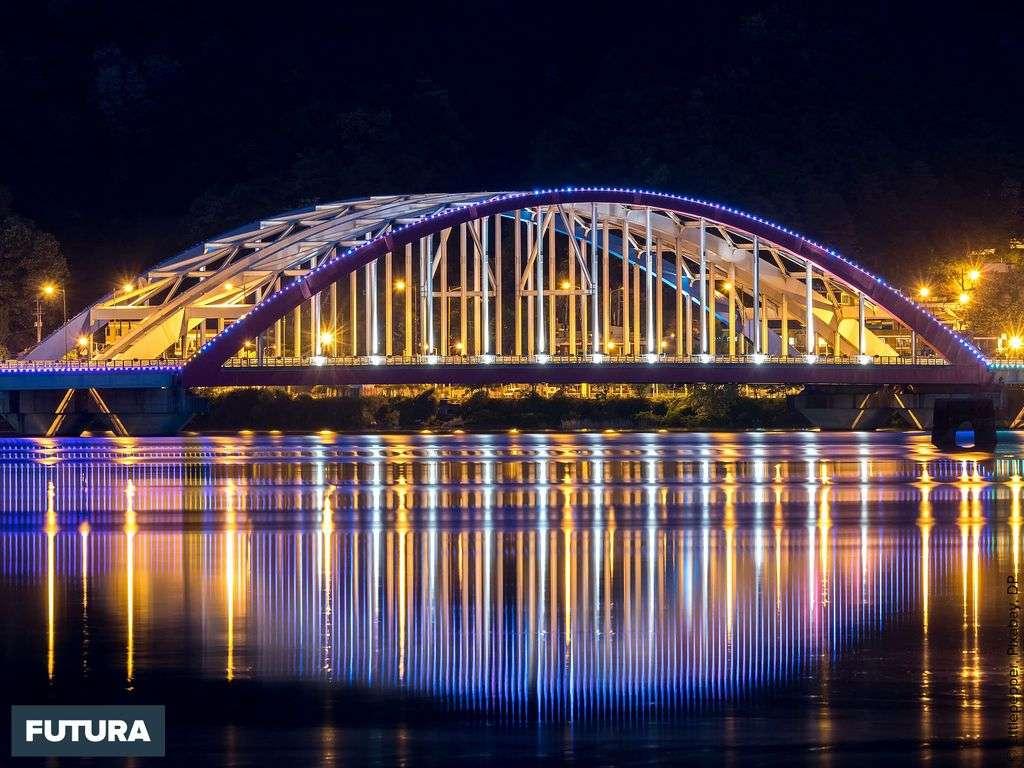 Pont de Chuncheon en Corée du Sud