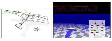 Robot volant. © Stéphane Doncieux, Jean-Baptiste Mouret, Renaud Barate, AnimatLab, LIP6 & ISIR