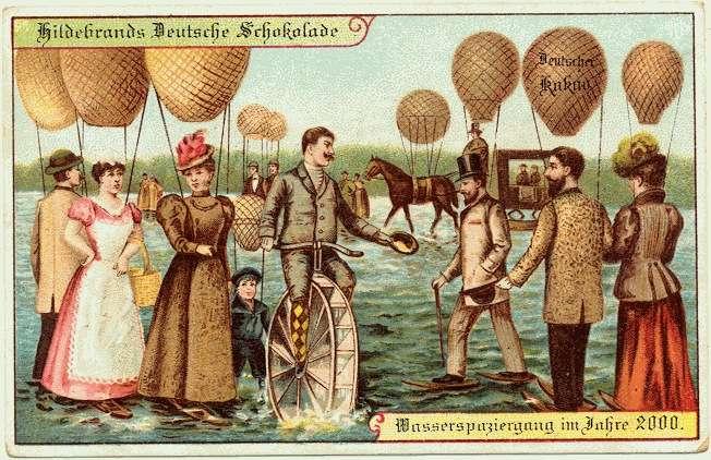 Des ballons gonflables pour marcher sur l'eau