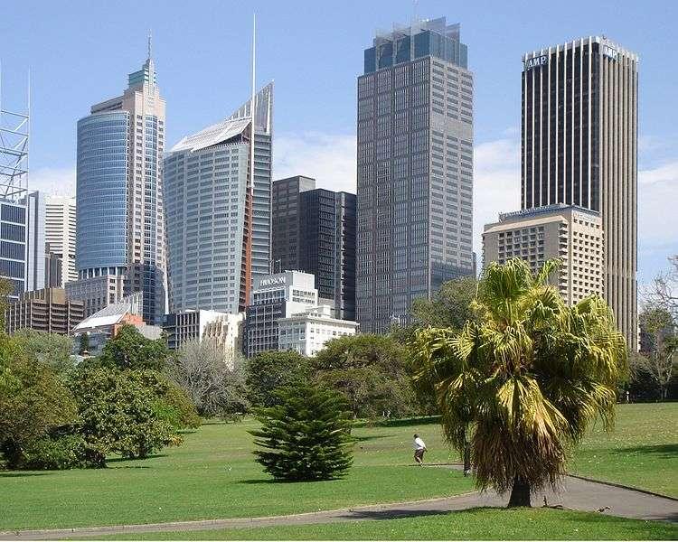 Les jardins botaniques royaux de Sydney, en Australie