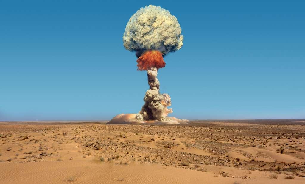 Du Sahara à la Polynésie, la France a réalisé plus de 200 tirs d'essais nucléaires. Les chercheurs en retrouvent toujours les traces dans le sable du Sahara. © CUTWORLD, Adobe Stock