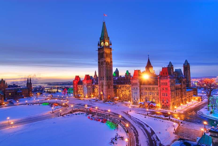 Noel Au Canada Photo | Illuminations de Noël au Canada