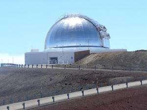 Le télescope IRTF est installé au sommet du Mauna Kea à plus de 4.000 mètres d'altitude. Crédit Nasa