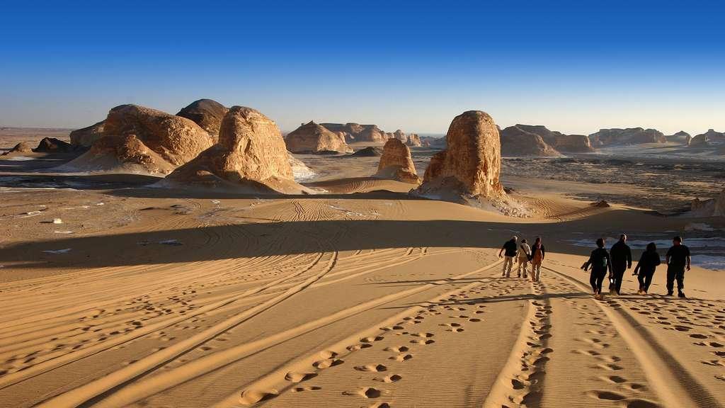 Egypte, l'étonnant désert blanc