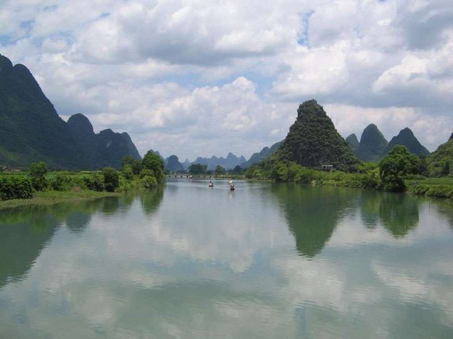 La rivière Li, à Yangshuo