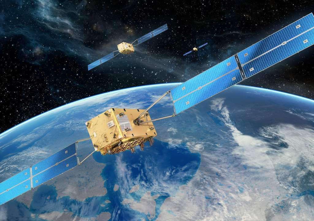 Le service de positionnement par satellites européen Galileo ne fonctionne plus depuis quatre jours. Seul son système de recherche et sauvetage reste opérationnel. © OHB