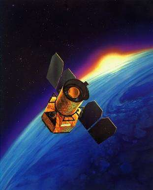 Galex, lancé par la Nasa en avril 2003, observe en ultraviolet les galaxies lointaines mais aussi les étoiles de la nôtre pour en étudier la formation. © NASA/JPL-Caltech