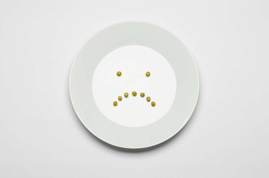 L'anorexique mange moins par peur de grossir. © Alex Malikov, Shutterstock