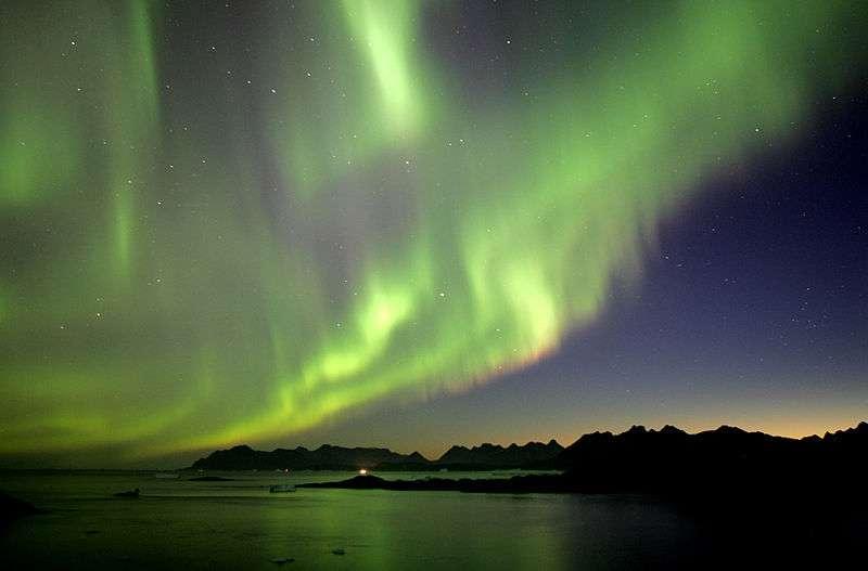 Aurore boréale au Groenland