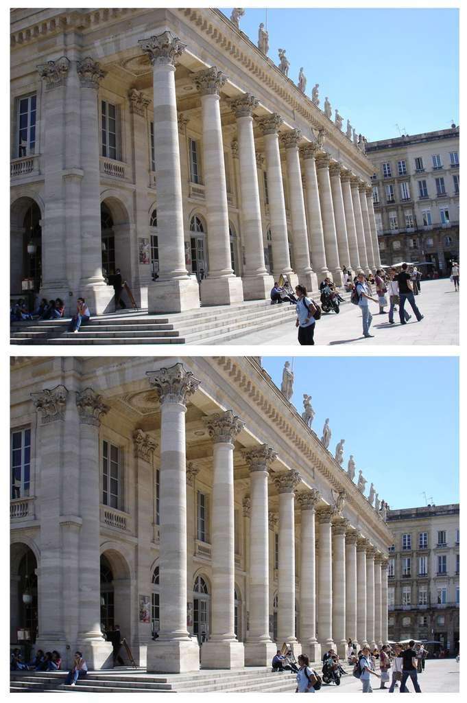 Bordeaux : le « Grand Théâtre ». © J.-P. Louvet