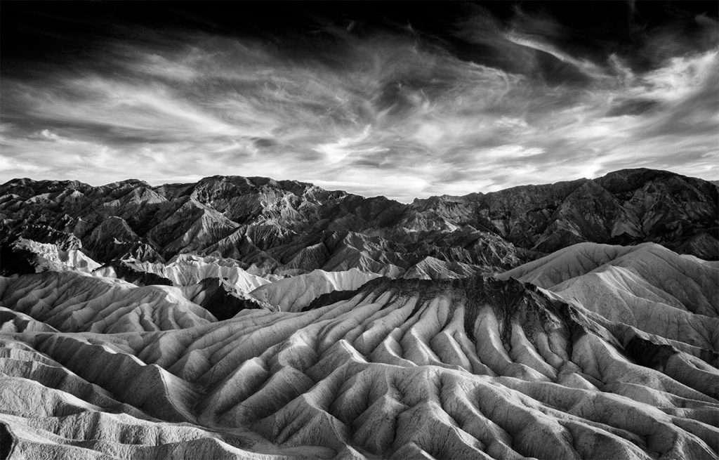 Vainqueur catégorie noir et blanc : Zabriskie. © Beamie Young