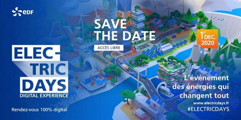 Tout le monde peut s'inscrire aux Electric Days EDF en accès libre sur www.electricdays.fr/fr/ © EDF